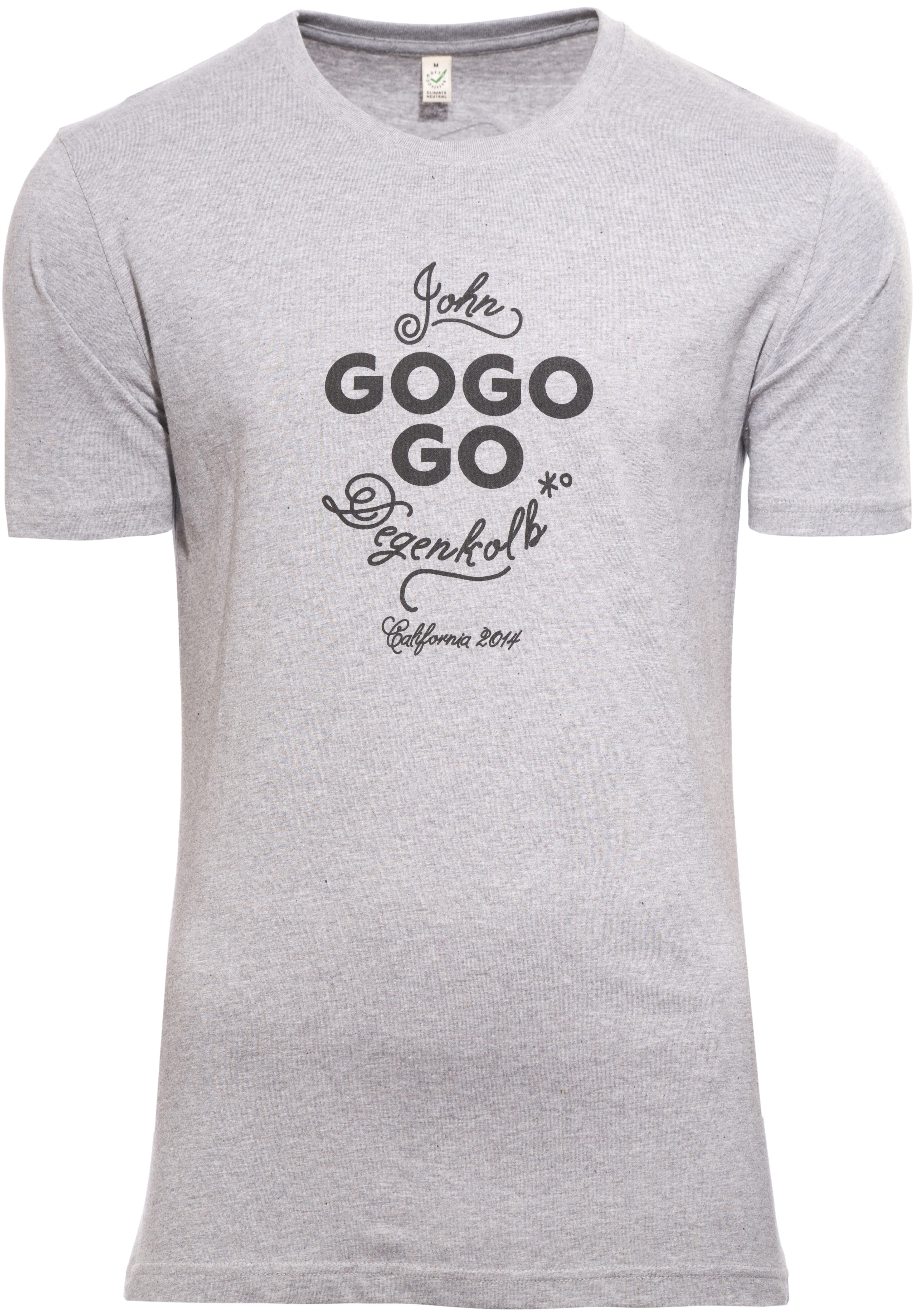 48a239a8 guilty 76 racing gogogo Dege California T-Skjorte Herre Grå | Gode ...